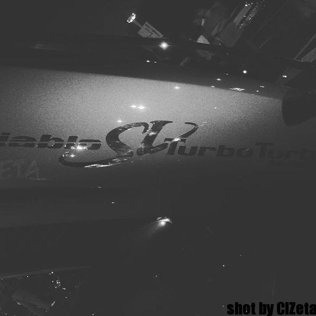 通常のSVロゴとは別でした(*・ω・)ノ#cizetaphoto #diablosv #lanborghini #svtt