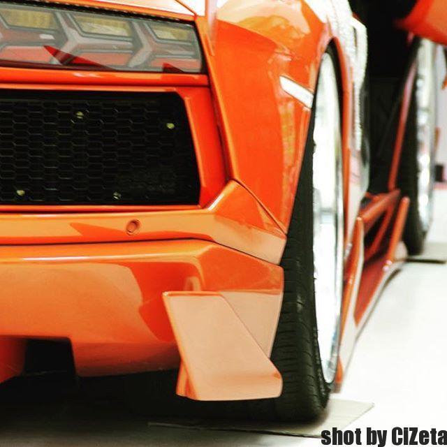 Orange Fightingstar#cizetaphoto #fightingstar #lanborghini #aventador #shinichimorohoshi
