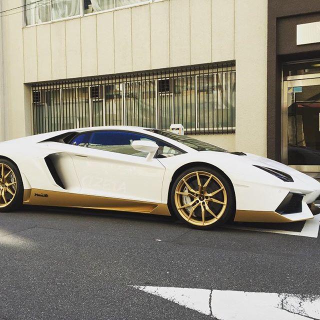 White & Gold#cizetaphoto #lanborghini  #aventador #aventadormiura #aventadormiurahomage #miura #miura50