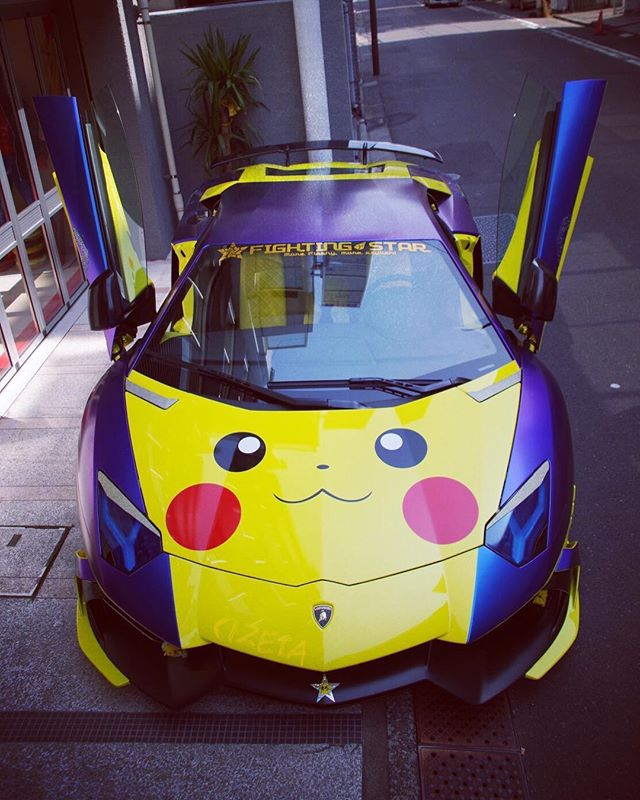 FirstStar#cizetaphoto #aventador #aniversario #aventadoranniversario #fightingstar #shinichimorohoshi #lanborghini #firststar #一番星号 #PIAA #wrapping #boomcraft #pikachu #swarovski