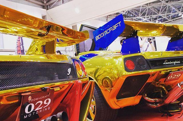 Gold & Gold#cizetaphoto #goldstar #金星号 #lanborghini #diablo #diablosv #wrapping #fightingstar #diablomeeting #shinichimorohoshi #悪魔集会 #諸星伸一